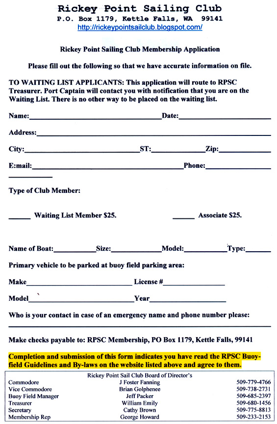 Exceptional RPSC Membership App And 2013 Billing Info  Club Bylaws Template