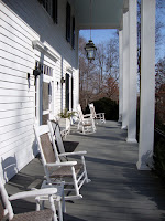 Smith Plantation, porch