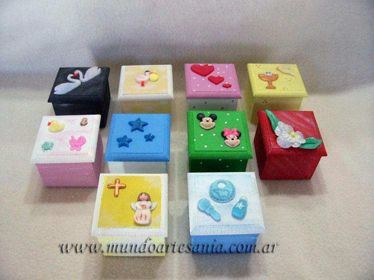 Todo en porcelana fria adornos regalos souvenirs marzo 2011 - Cajas infantiles decoradas ...