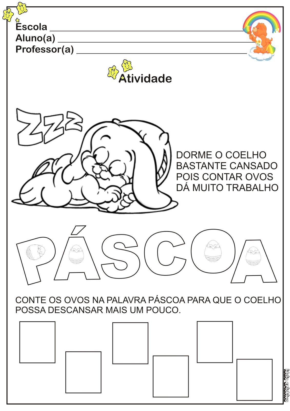 Atividade Matem  Tica P  Scoa Educa    O Infantil   Numeral 4
