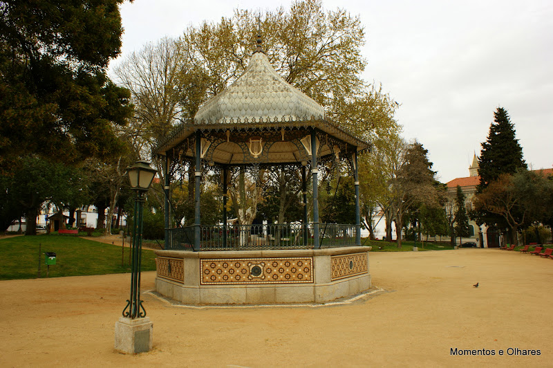 Évora, Coreto no jardim Municipal