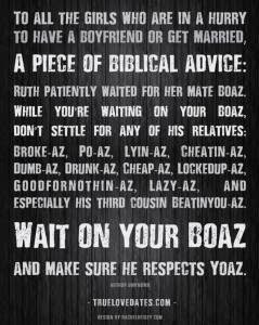 Best Ever Biblical Dating Advice