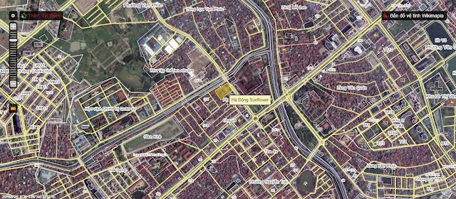 Địa điểm Căn hộ Samsora 105