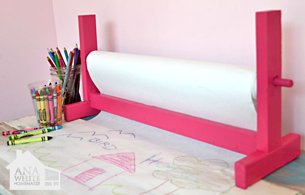 Ana White Craft Paper Roll Holder Diy Projects
