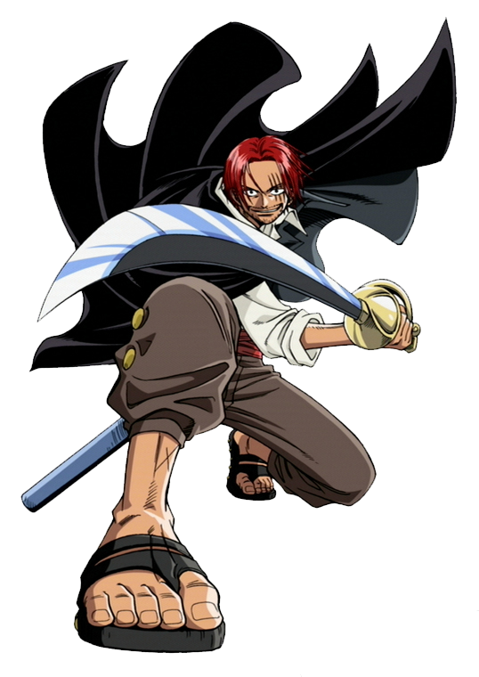 Wallpapers: Japanese A... One Piece Shanks Logo