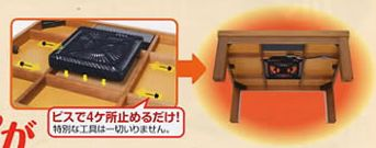 kotatsu table DIY build