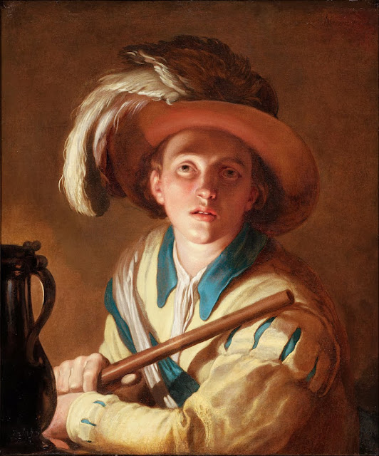 Abraham Bloemaert - The flute player - Google Art Project