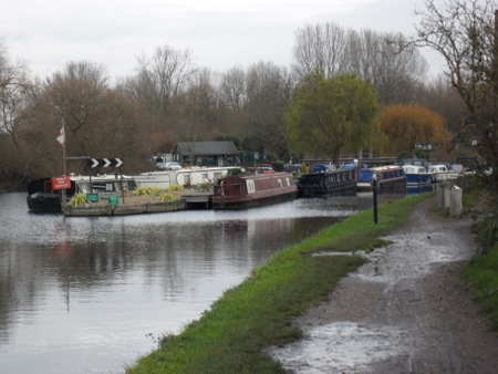 Boats on the Lea