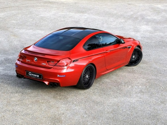 2013 G-Power BMW M6 F13 - Rear Angle Top