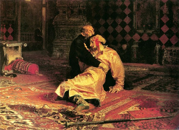 Ilya Repin - Ivan the Terrible and his Son