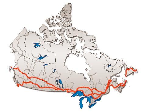 Canada, road