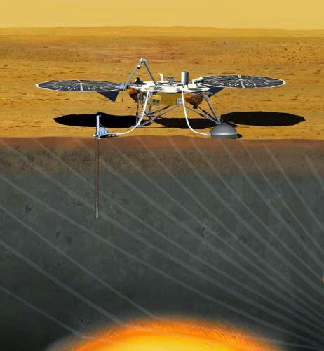 Lockheed Begin Insight Mars Lander Assembly