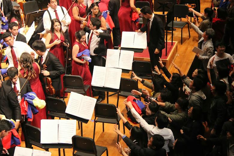 La euforia de los músicos tuvo una respuesta similar en el público del Seoul Arts Center