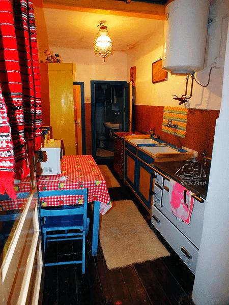 bucatarie casa bunicii sighisoara