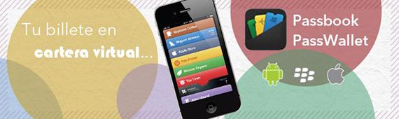 Compra el billete de tren Renfe desde Android, iPhone o Blackberry con Passbook y Passwallet