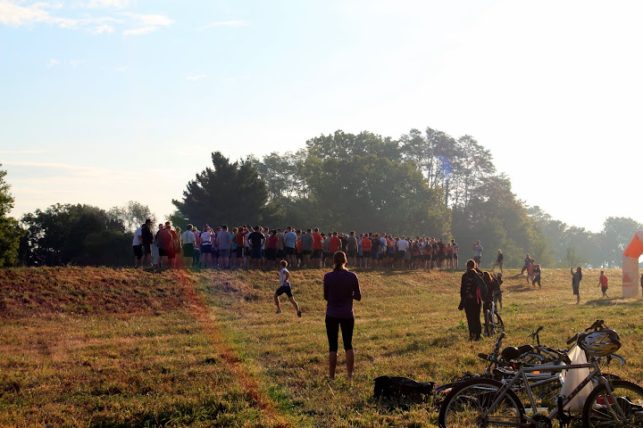 Start of the 2011 Wakarusa Off Road Challenge