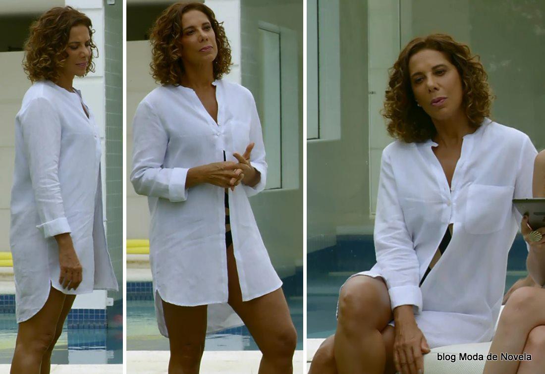 moda da novela Em Família - look da Branca dia 29 de maio