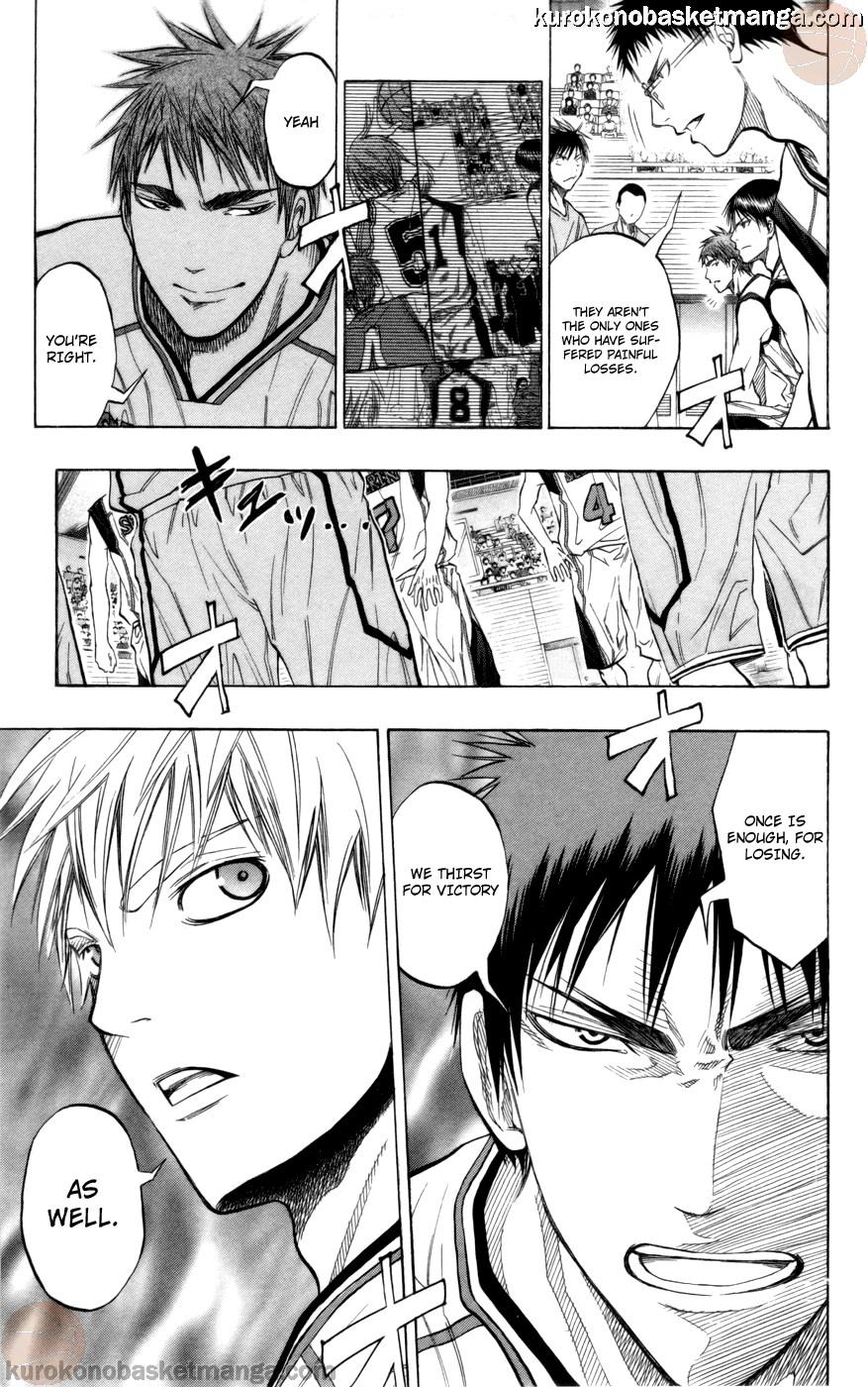 Kuroko no Basket Manga Chapter 85 - Image 19