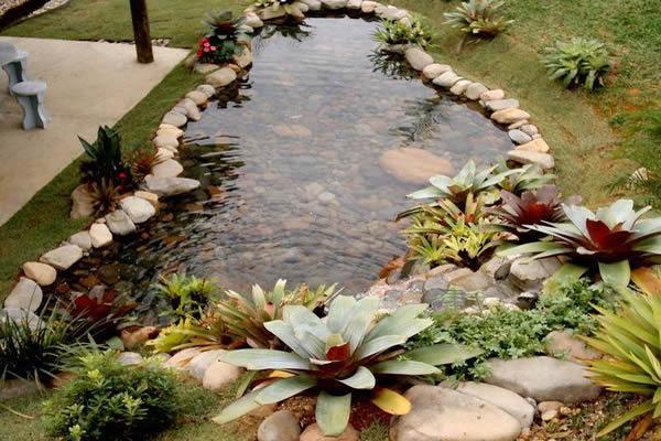 Gl ria cabo arquitetura e paisagismo gua nos jardins for Lagos de jardin