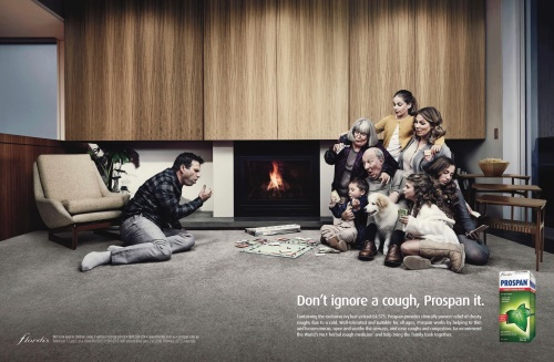 Реклама средства от кашля