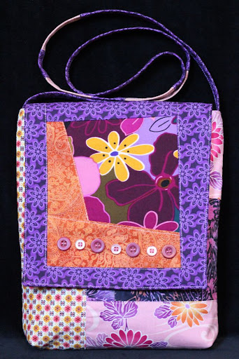 flowered bag