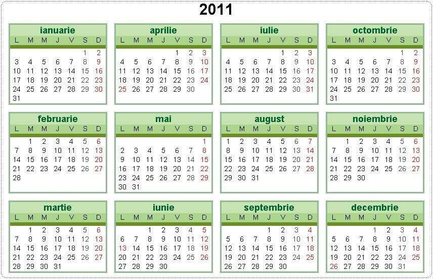 2011 Calandar | New Calendar Template Site