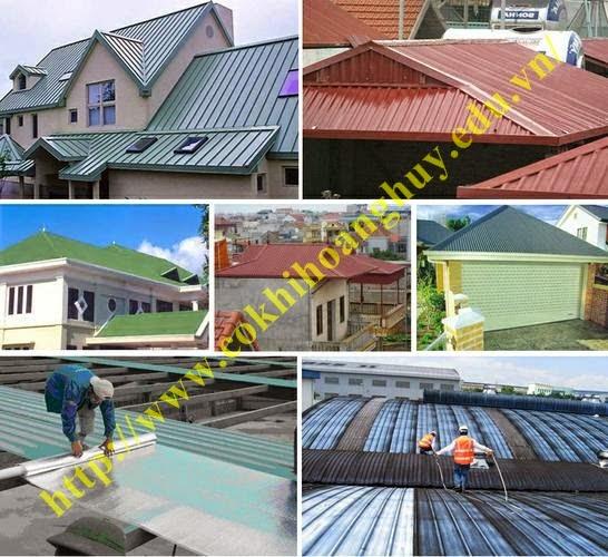 Dịch vụ sửa chữa mái tôn nhà dân nhà xưởng