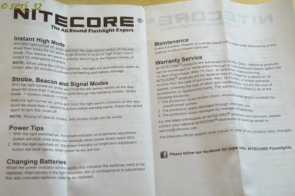 DealExtreme: Nitecore CR6 - 'тактический' хамелеон