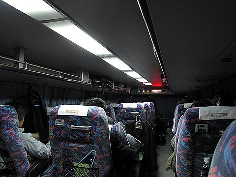 JR東海バス「ドリームなごや1号」 ・917 車内 その2