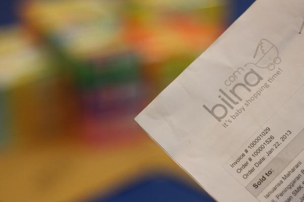Invoice Bilna