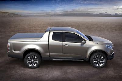 Chevrolet Colorado Concept (2011) Side 1