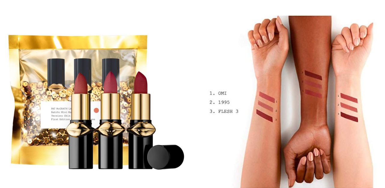 Pat Mcgrath Lab Lust Mini MatteTrance Lipstick Trio