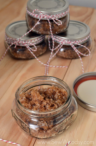 Spicy Apple Brown Sugar Scrub