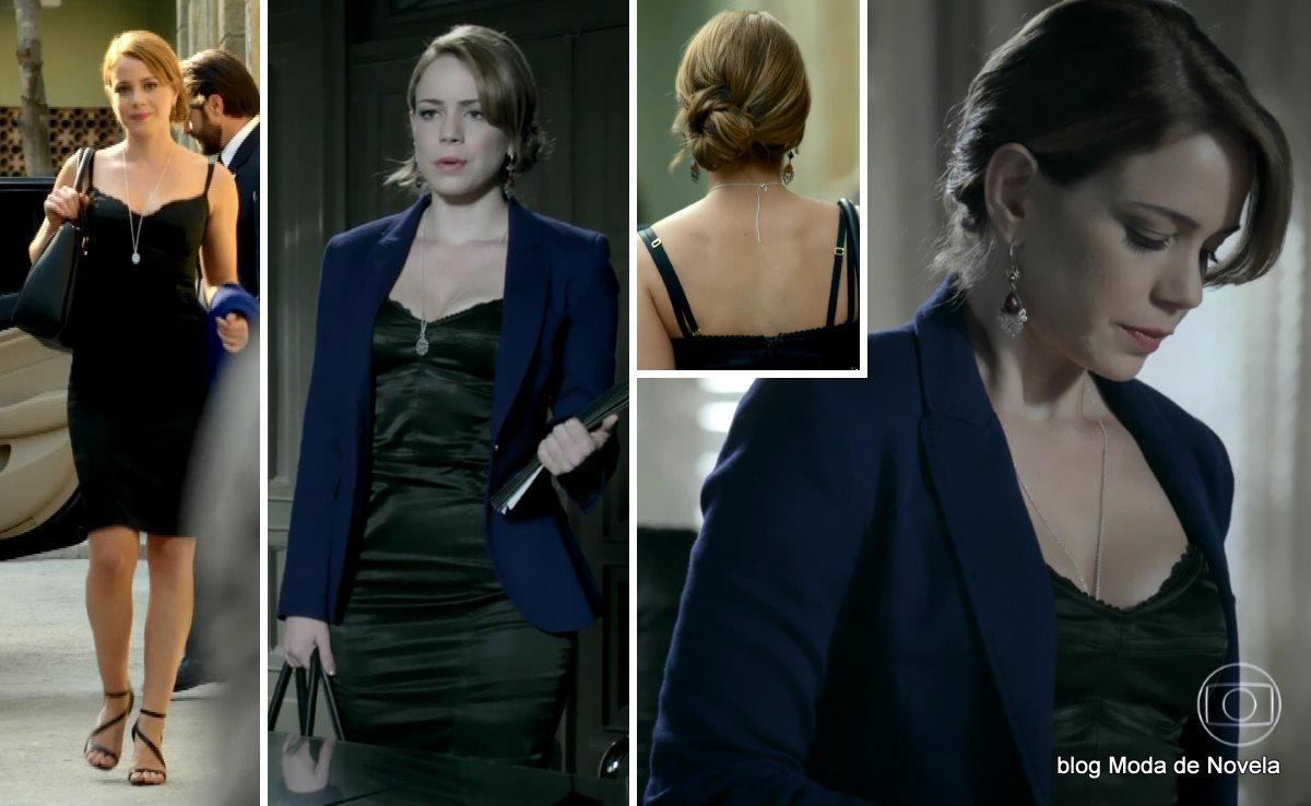 moda da novela Império, look da Cristina dia 19 de novembro