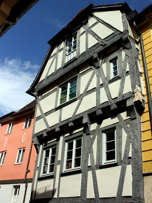 Traditional architecture in Ansbach Germany