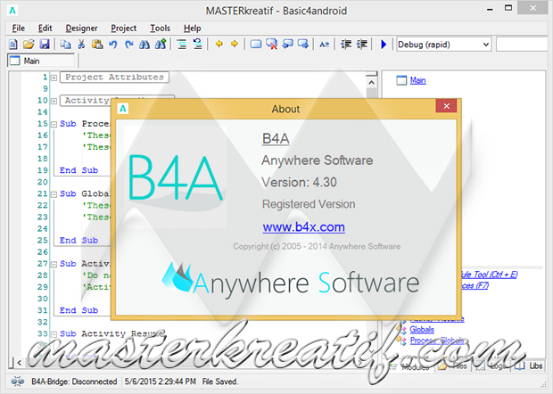 Basic4Android 4.30