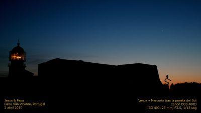 Venus y Mercurio - Jesús y Pepa