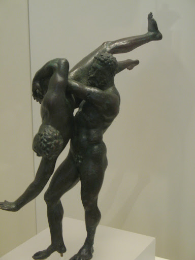 Luchadores. Museo Arqueológico Nacional de Atenas