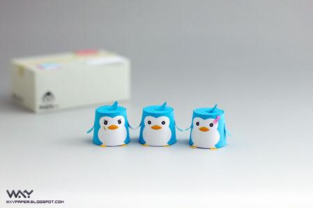 Mawaru Penguindrum Papercraft