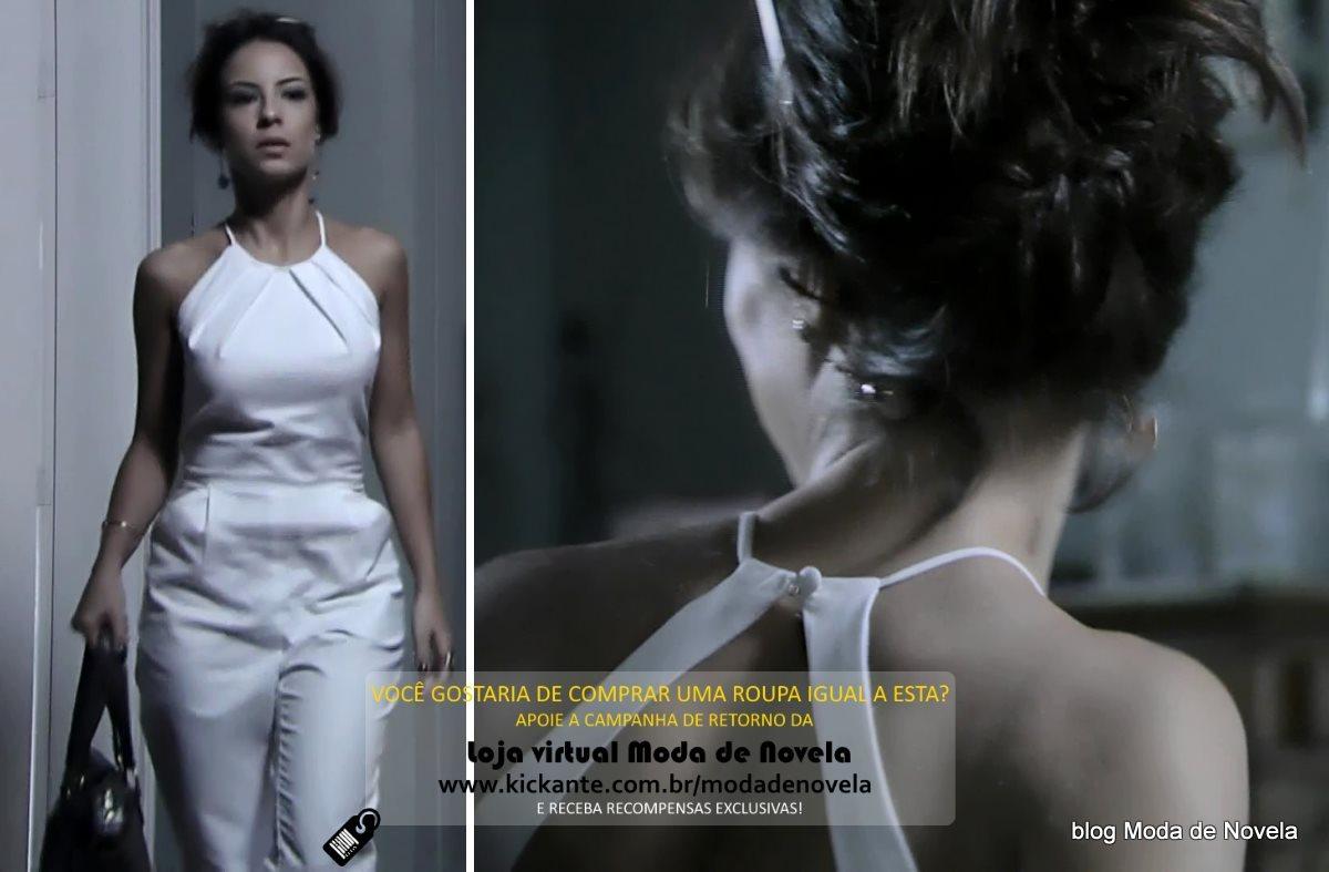 moda da novela Império, look da Maria Clara dia 28 de fevereiro de 2015