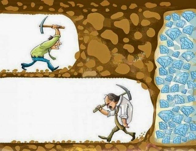 kiếm tiền trên mạng bạn phải thật kiên nhẫn