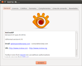 XnView MP en el Centro de Software de Ubuntu