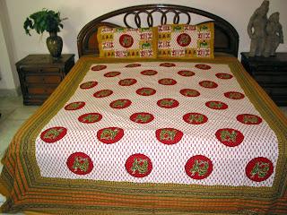 Mogul interior designs elegant printed cotton bedding for Mogul interior designs
