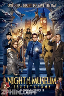 Đêm Ở Viện Bảo Tàng: Bí Mật Hầm Mộ - Night at the Museum: Secret of the Tomb (2014) Poster