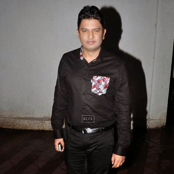 Bhushan Kumar poses during the wrap-party of Bollywood movie Mary Kom, held at Sanjay Leela Bhansali's residence on July 26, 2014.(Pic: Viral Bhayani)