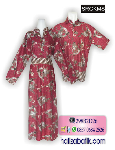 baju batik sepasang, baju batik pasangan, macam motif batik,