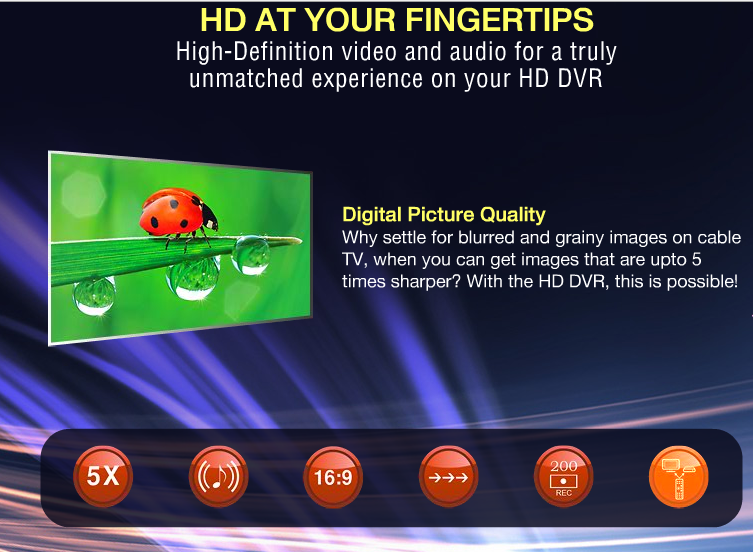 Videocon D2H unveiled India's first HD DVR with 3D - Techstic