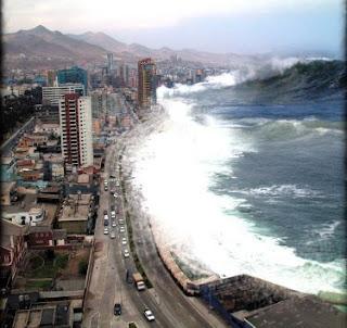 Tsunami threat
