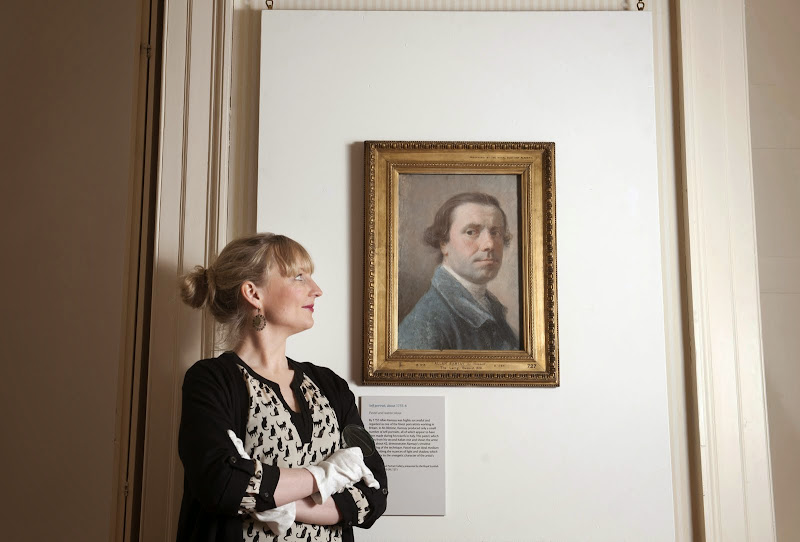 Allan Ramsay exhibit at Duff House, Banff, Scotland