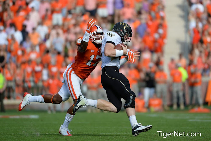 Wake Forest vs. Clemson Photos - 2013, Bashaud Breeland, Football, Wake Forest